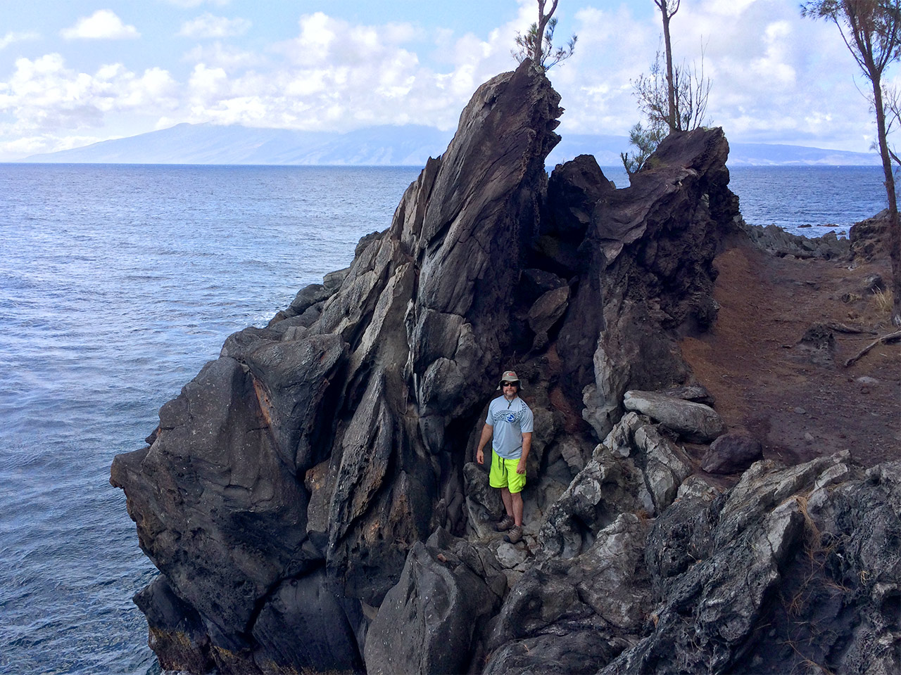 Hiking Kapalua Cliffs