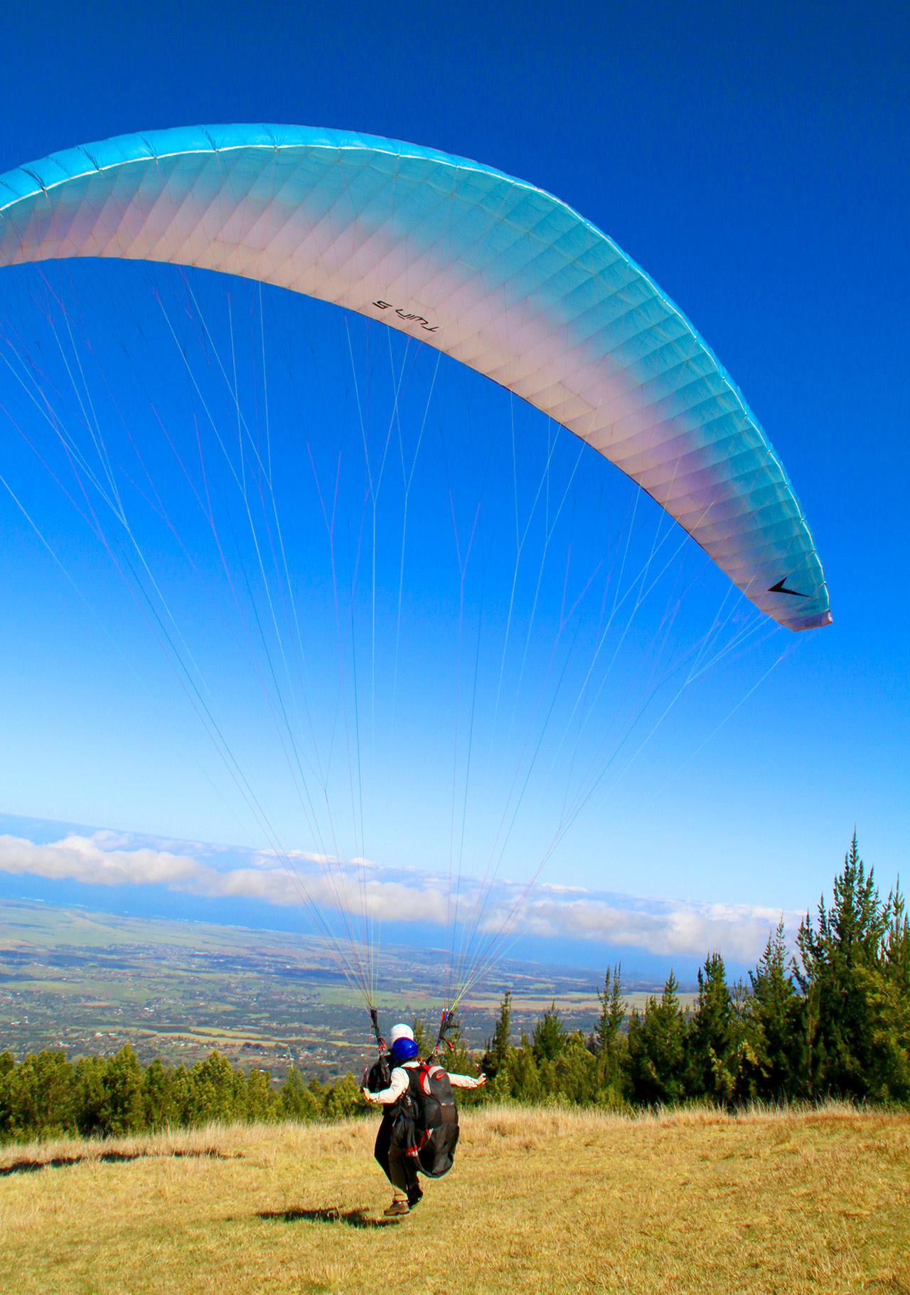 Paragliding Lift Off