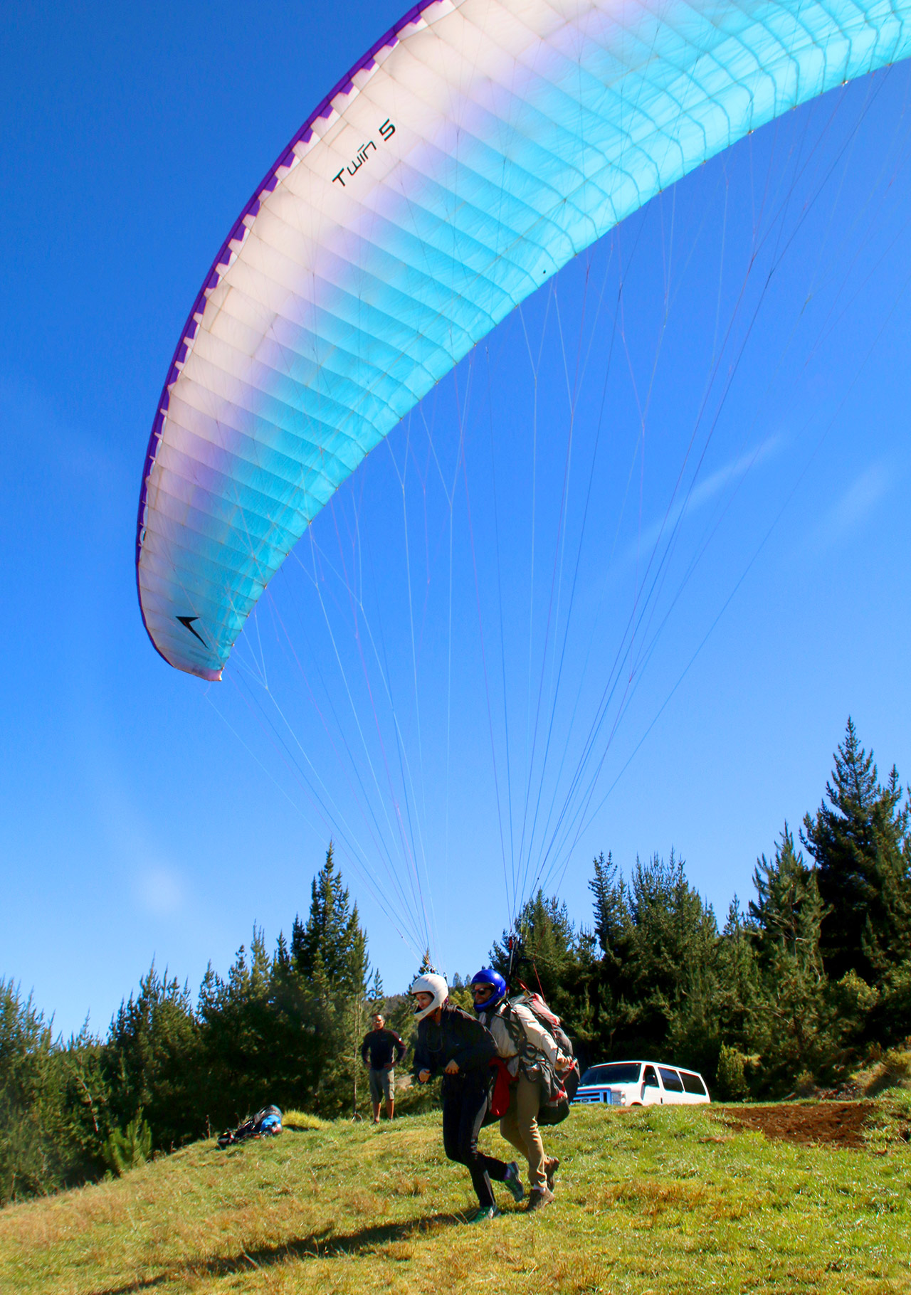Paragliding Run